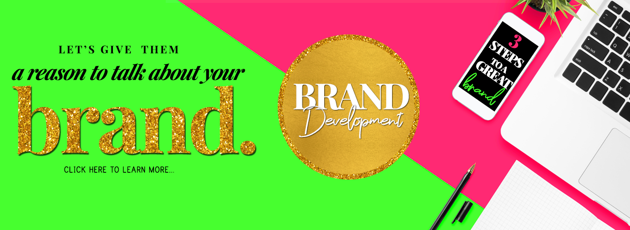 Let us help you design your brand | Brand Development